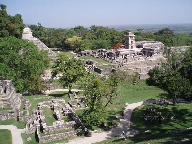 Palanque ruins, Mexico