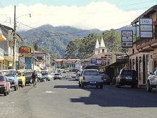 Boquete Panama street