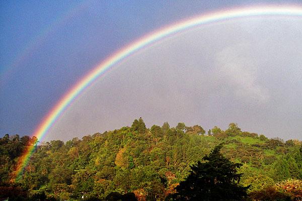 Boquete Panama rainbow
