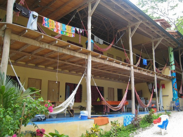 Costa Rican budget-friendly hostel