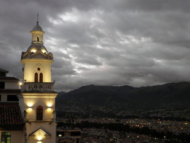 See Cuenca from atop Mirador de Turi.
