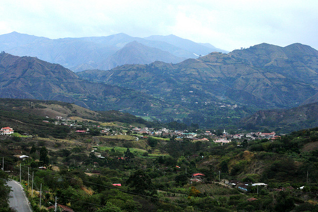 ecuador mountain towns